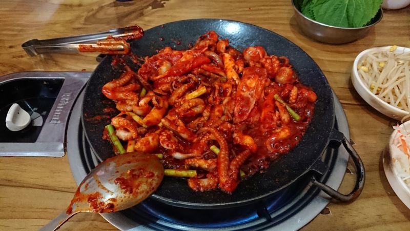 韓国ソウルでチュクミとアルマーニチャーハンを食べた話【ホンスチュクミ(홍스쭈꾸미)】のアイキャッチ画像