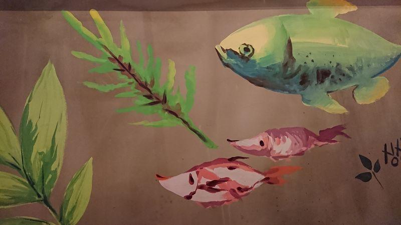 お魚がかわいい