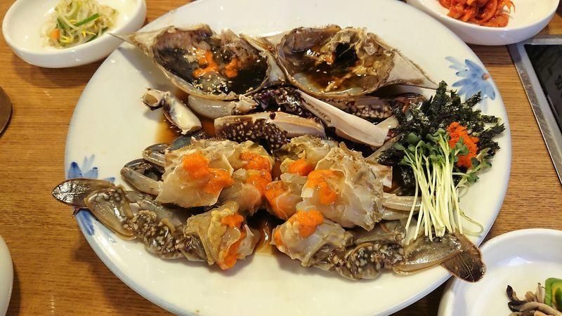 「【韓国グルメ】アグランコッケランで念願のカンジャンケジャンを食べる!」のアイキャッチ画像