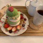 【苺と抹茶!】新食感スイーツパブロバを大邱のおしゃれカフェで【golmok23】