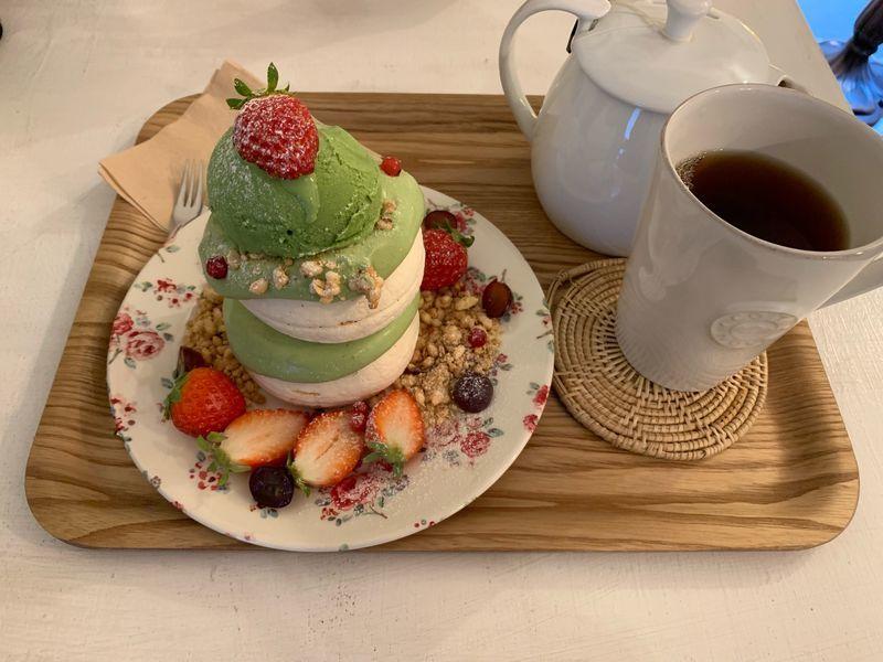【苺と抹茶!】新食感スイーツパブロバを大邱のおしゃれカフェで【golmok23】のアイキャッチ画像
