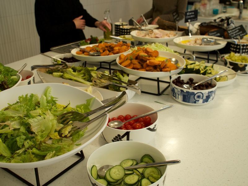 野菜を使った料理が多くて栄養満点です!
